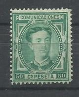 ESPAÑA EDIFIL  179  MH  * - 1875-1882 Reino: Alfonso XII