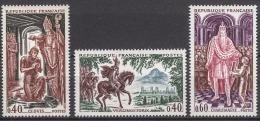 FRANCE 1966 -  SERIE Y.T. N° 1495 A 1497 - 3 TP NEUFS** - Neufs