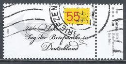 Germany 2011. Scott #B1051 (U) Stamp Day, 75th Anniv. * - [7] République Fédérale