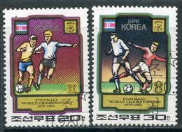 Y85 DPRK (NORTH KOREA) 1980 2033-2034 World Cup. Argentina 1978 And Spain 1982 - 1982 – Spain