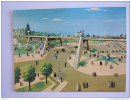 Chromo Victoria Expo 58 Expositions Tentoonstellingen 111 Exposition De Bruxelles 1958 Tentoonstelling Van Brussel - Victoria