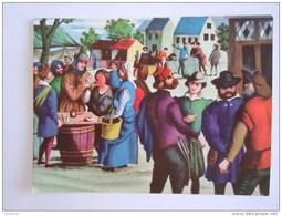 Chromo Victoria Expo 58 Expositions Tentoonstellingen 1 Un Marché à Anvers En 1560 Een Markt In Antwerpen - Victoria