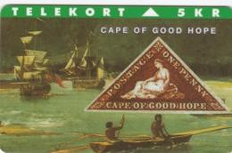 Denmark, TP 037, 5kr,  Rare Stamps - Cape Of Good Hope, Only 3000 Issued, 2 Scans. - Denmark