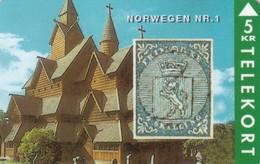 Denmark, TP 043, 5kr,  Rare Stamps - Norwegen No.1, Only 3000 Issued, 2 Scans. - Denmark