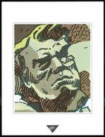 """Visage Extrait De """"S.O.S. BONHEUR"""", De VAN HAMME Et GRIFFO, Issu Du Porte-folio Collection """"Aire Libre"""", 1993 ( Scan 2). - Affiches & Offsets"""