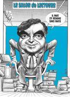 Illustrateur Bernard Veyri Caricature Salon De Lectoure Bernard Pivot - Veyri, Bernard