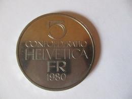 Suisse: 5 Francs 1980 - Pièce Commémorative Ferdinand Hodler - Switzerland