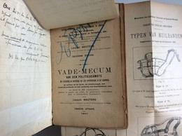 Vademecum Van Den Politiebeambte - Vademecum Du Policier 1907 - Léopold WAUTERS - Police & Gendarmerie