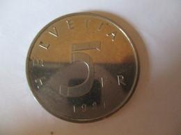 Suisse: 5 Francs 1981 - Pièce Commémorative Convenant De Stans - Switzerland