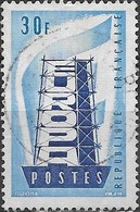 FRANCE 1956 Europa - 30f - Ultramarine And Blue FU - France