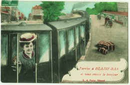 J'arrive à BLAISY-BAS - Frankreich