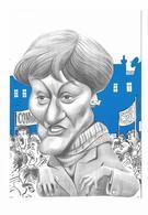 Illustrateur Bernard Veyri Caricature La Grande Manif Nicole Notat CFDT Syndicalisme - Veyri, Bernard