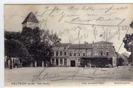 """AK Neuteich / Nowy Staw  Powiat Malborski (Marienburg) -Pommern  Westpreussen Bei Marienburg  M. """"Hotel Deutsches Haus"""" - Westpreussen"""