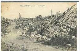 Cpa 02 Chavignon , Ww1 , Le Dauphin , Non écrite - Altri Comuni