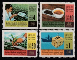 1967 Ceylon 100th Of The Tea Culture Set MNH** No178 - Sri Lanka (Ceylon) (1948-...)