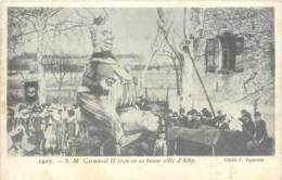 81 - ALBI - Sa Majesté Carnaval II Reçu En Sa Bonne Ville D'Alby En 1905 (TOP) - Albi
