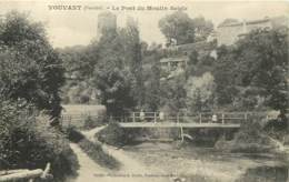 85 - VOUVANT - Le Pont Du Moulin Seigle - Francia