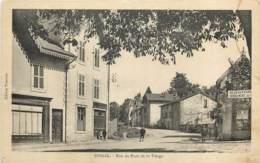 88 - EPINAL - Rue Du Pont De La Vierge En 1928 - Epinal