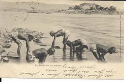 EGYPTE  PECHEURS DES CATARACTES  ECRITE 1901 - Egypt