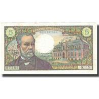 France, 5 Francs, 5 F 1966-1970 ''Pasteur'', 1970, 1970-01-08, SUP - 5 F 1966-1970 ''Pasteur''
