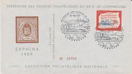 Luxemburg 1959 Centenaire Des Chemins De Fer 1v FDC (41185) - FDC