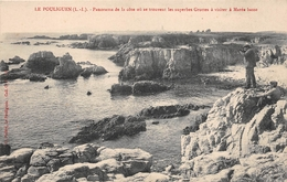 ¤¤  -   LE POULIGUEN   -  Panorama De La Côte Où Se Trouve Les Superbes Grottes à Visiter  -  Chasseur , Chasse - Le Pouliguen