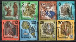AUSTRIA - 1993 - OPERE D'ARTE DEI CONVENTI E DEI MUSEI DELL'AUSTRIA - USATI - 1945-.... 2a Repubblica