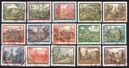 AUSTRIA - 1984 - CONVENTI E MONASTERI IN AUSTRIA - USATI - 1945-.... 2a Repubblica