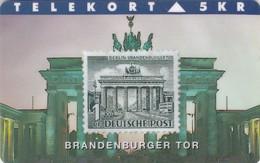 Denmark, TP 071, Rare Stamps - Brandenburger Tor, Only 2000 Issued, 2 Scans. - Denmark