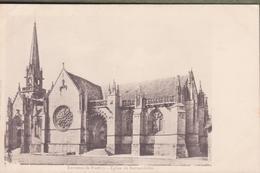 CPA - ENV DE PONTIVY église De Kernascleden - Pontivy