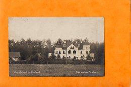LATVIA - LETTLAND  -  SCHWEFELBAD IN KURLAND  -  DAS WEISSE SCHLOSS  -  Avril 1917  ( Tampon  SAARGEMÜND  P. K. ) - Lettonie