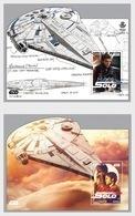 Spain 2018 - Cinema, Star Wars, Han Solo - Miniature Sheet Mnh - 2011-... Gebraucht