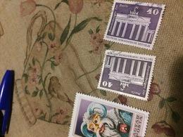 GERMANIA EST DDR PORTA BRANDEBURGO - Stamps