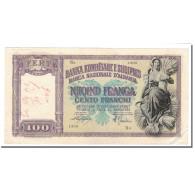 Billet, Albania, 100 Franga, 1945, KM:8, TTB - Albanie