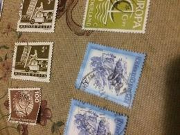 AUSTRIA PAESAGGI AZZURRO - Stamps