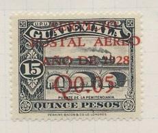 Guatemala 1929 Mi 233 SG 240 * MH - Penitcenciaria Railway Bridge, Guatemala City / Eisenbahnbrücke - Treinen