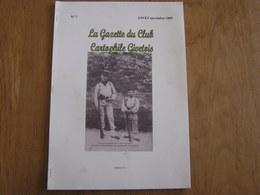 LA GAZETTE DU CLUB CARTOPHILE GIVETOIS N° 7 Régionalisme Givet Ardennes Meuse Histoire Général Bourke Empire Poste - Champagne - Ardenne