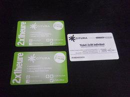 Ticket Transport - REIMS 2x 1h (quantité 3) - Tramways