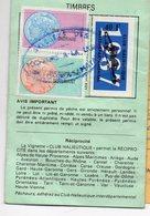 Gers 32 : Permis De Pêche Avec Timbres Fiscaux Taxe Piscicole  1987 (PPP15765) - Old Paper