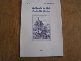 LA GAZETTE DU CLUB CARTOPHILE GIVETOIS N° 10 Givet Chemins De Fer Ligne 138 A Florennes Doische Vireux Usine Chiers - Champagne - Ardenne