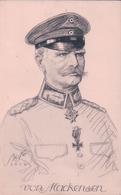 Von Mackensen Maréchal Allemand Par Illustrateur Bi Ko (1914) Kriegpostkarte 54 - Personen