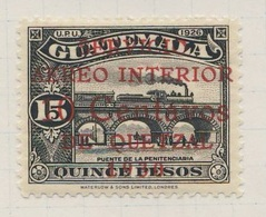 Guatemala 1930 Mi 253 SG 259 * MH - Penitcenciaria Railway Bridge, Guatemala City / Eisenbahnbrücke - Trenes