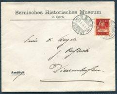 1916 Switzerland Bernisches Historisches Museum / Bern Historical Museum Cover - Diessenhofen - Switzerland
