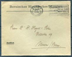 1926 Switzerland Bernisches Historisches Museum Amtlich / Bern Historical Museum Cover - Muri - Switzerland
