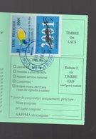 (Gers 32) : Permis Pêche 2001 Avec Timbres Fiscaux   (PPP15772) - Old Paper