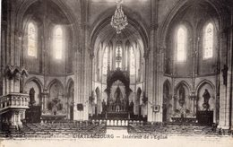 CHATEAUBOURG - Intérieur De L'Eglise - France