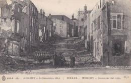 NOMENY - MEURTHE ET MOSELLE  (54)  - CPA ANIMÉE 1916.. - Nomeny