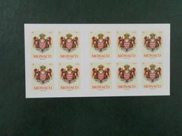 MONACO YT CARNET 16 ARMOIRIES** - Carnets