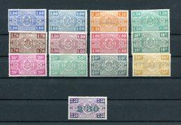 Belgique, Lot Timbres Colis Postaux 1923/1924. Neufs* - Chemins De Fer