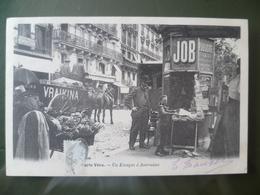 Paris Vécu édition 1900    Un Kiosque A Journaux - Petits Métiers à Paris